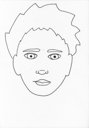 boy face blank